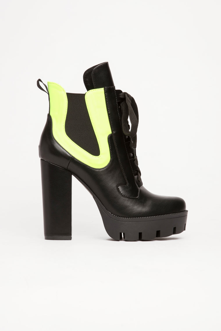 Bet Your Boots Bootie - Black