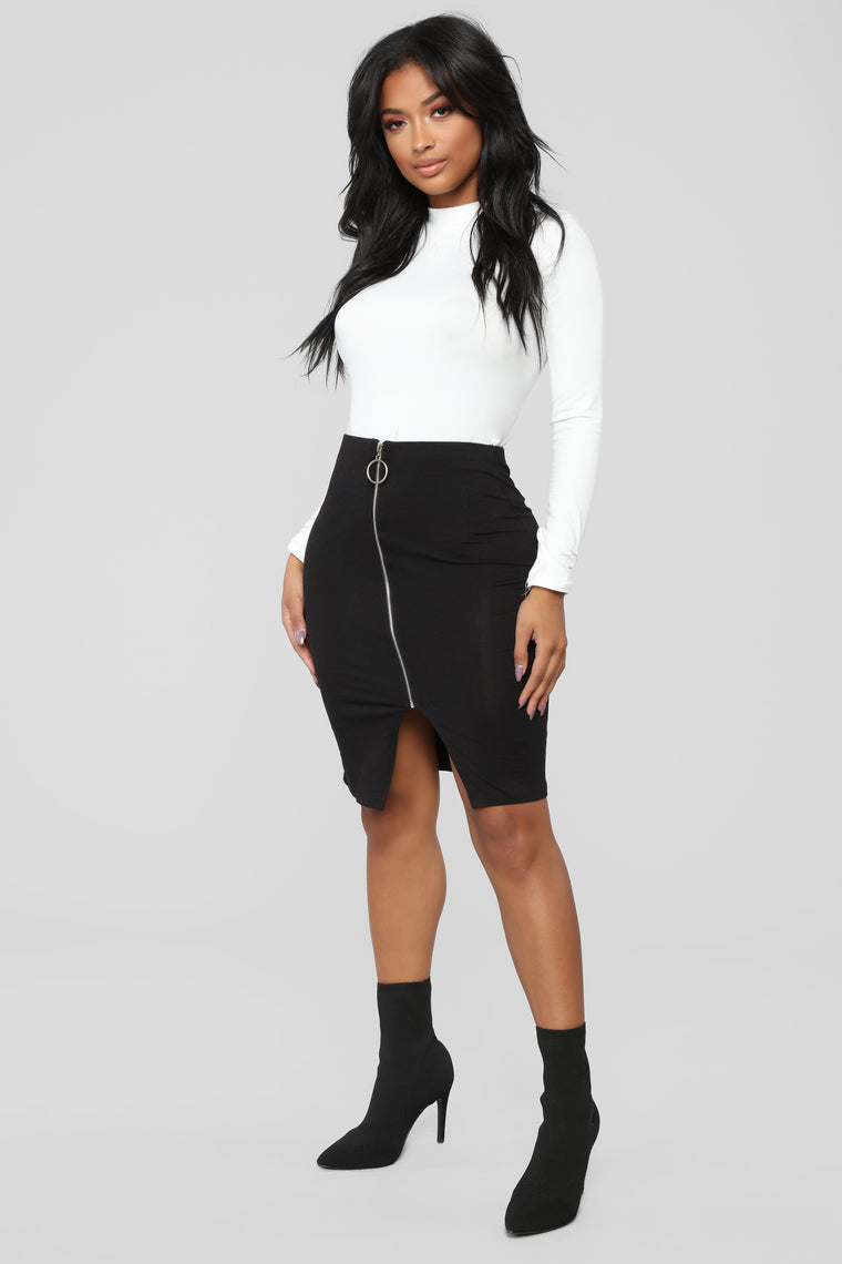 Oh Yes Indeed Skirt - Black