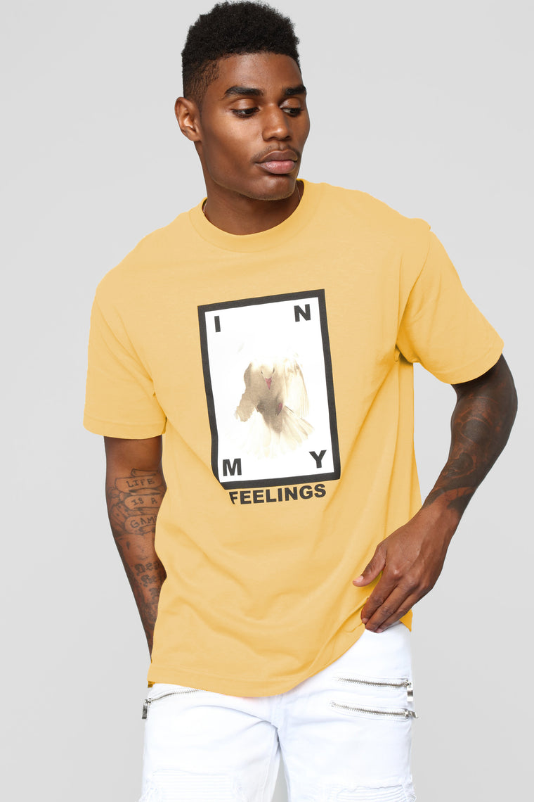 In My Feelings Short Sleeve Tee - Sand