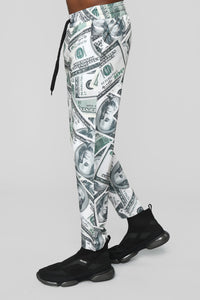All About The Benjamin's Jogger - Green