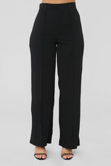Just Flow With It Flare Pants   Black by Fashion Nova