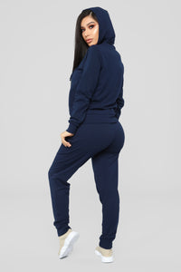 Latest And Greatest French Terry Jogger - Navy