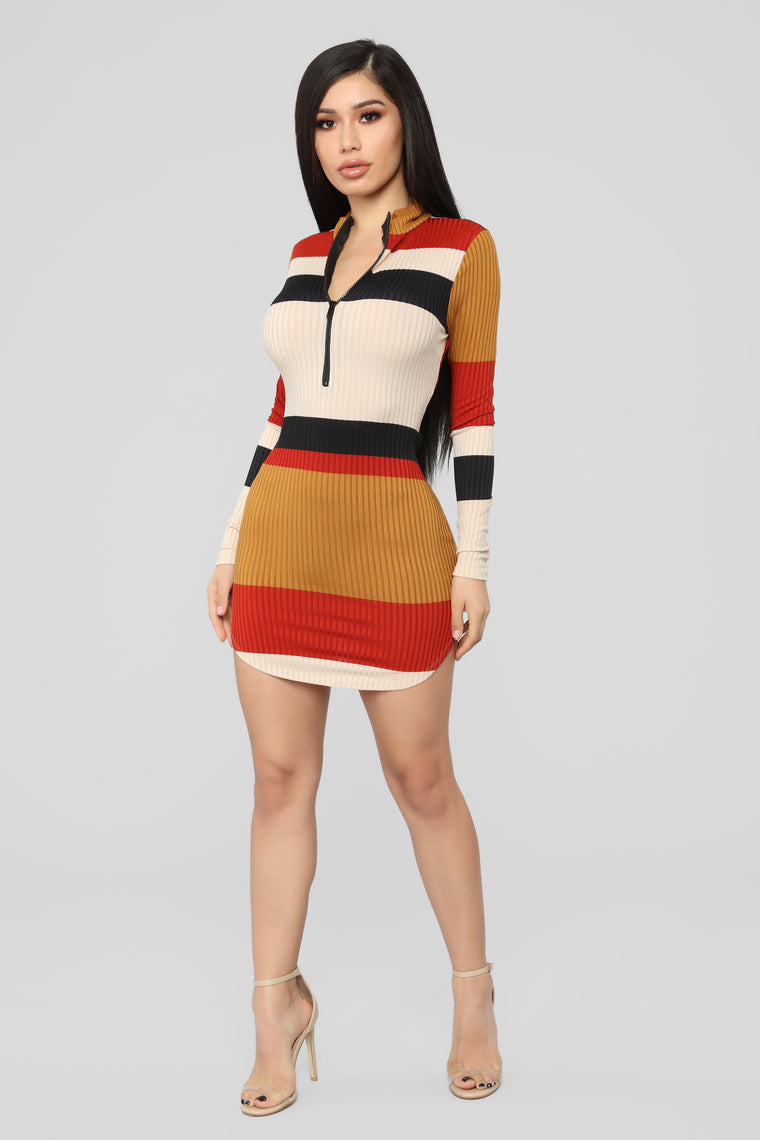 Gimme More Dress - Multi