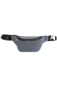 Mesh With You Fanny Pack - Blue