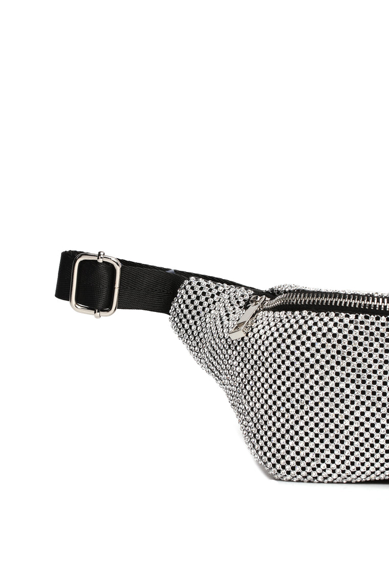 Mesh With You Fanny Pack - Silver