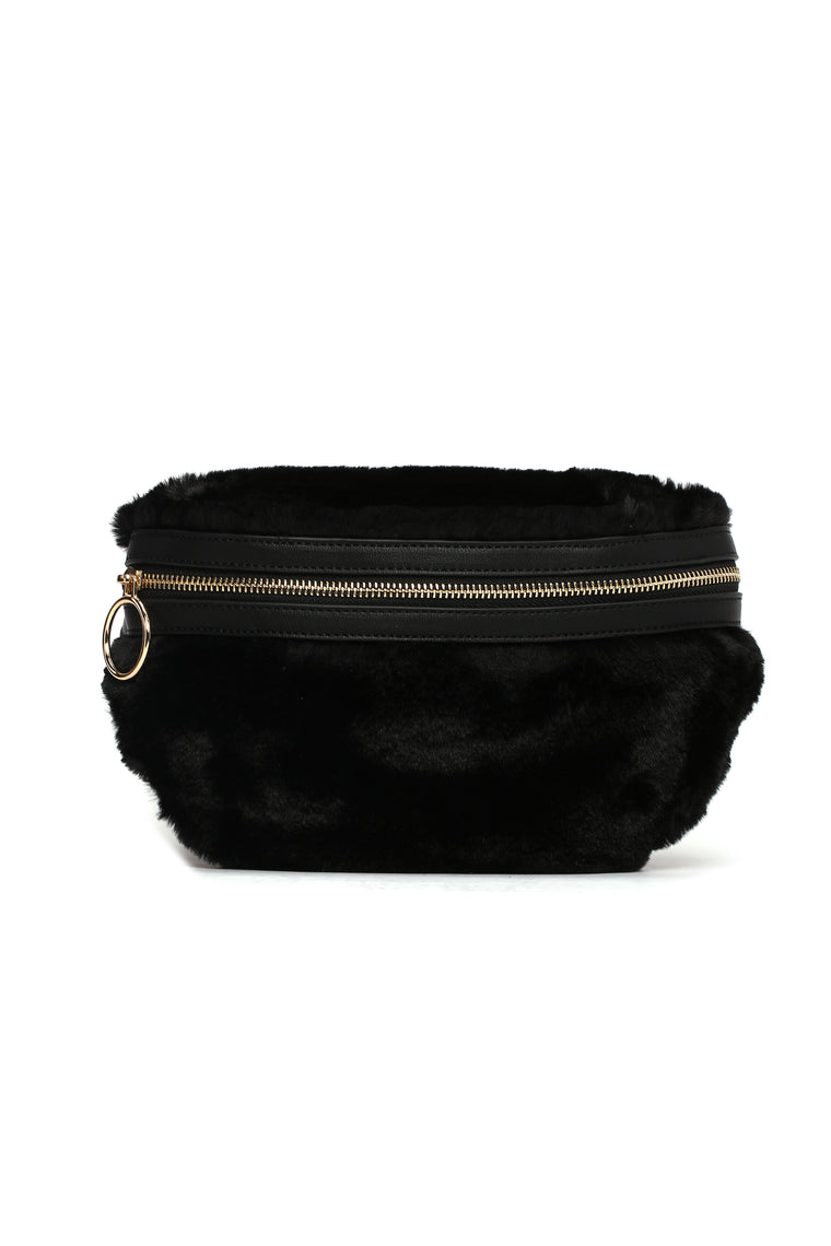 Some People Chain Fanny Pack - Black