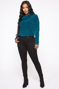 Soft Kissed Sweater - Blue Angle 3