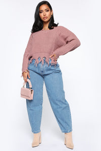 Daydreaming High Rise Mom Jeans - Medium Wash Angle 4