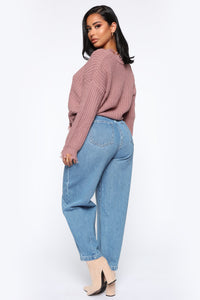 Daydreaming High Rise Mom Jeans - Medium Wash Angle 8