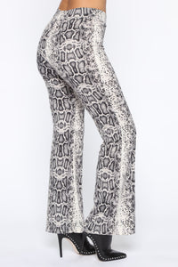 Saturday Night Flare Pants - Snake