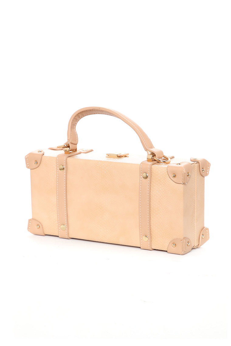 Here's The Case Satchel - Nude