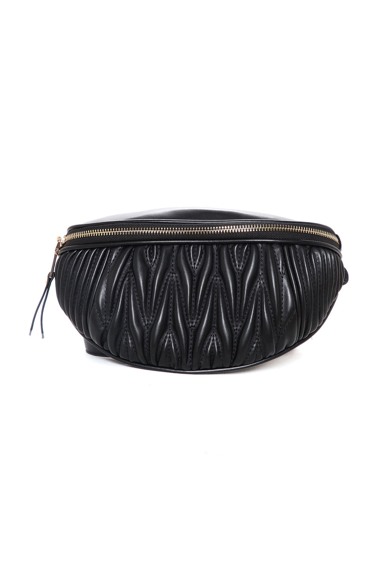 In My Own Lane Belt Bag - Black