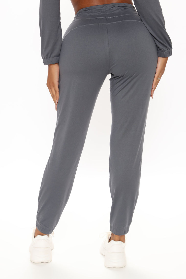 Fit And Cozy Active Jogger - Grey