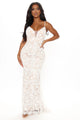 Unknown Pleasures Lace Maxi Dress - White