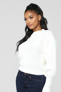 Keeping Me Warm Sweater - Ivory