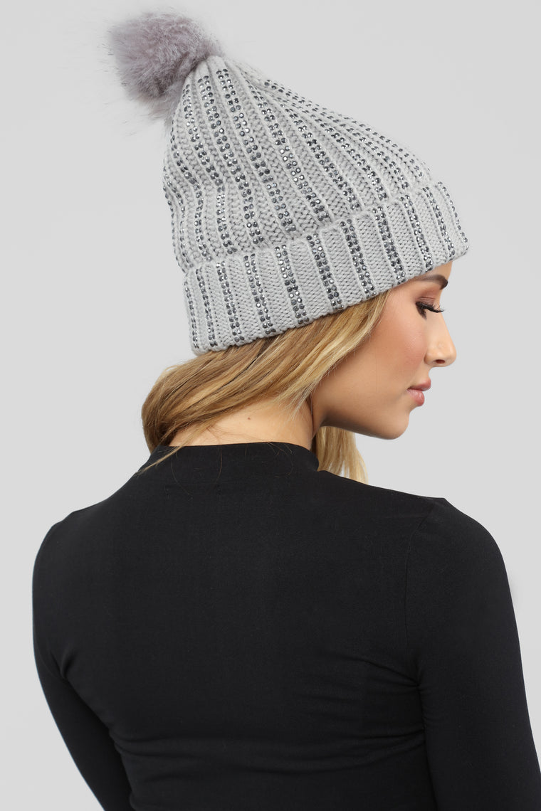Saved Fur No One Beanie - Grey