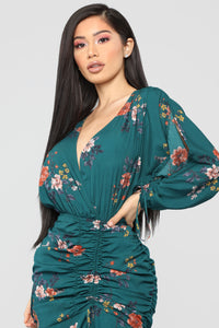 You Are Mine Maxi Dress - Emerald