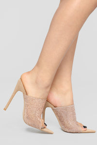 Dream Big Heeled Sandal - Nude/Rose Gold