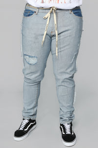 Inverso Skinny Jeans - Light Wash Angle 9