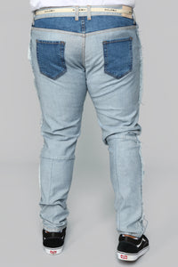 Inverso Skinny Jeans - Light Wash Angle 13