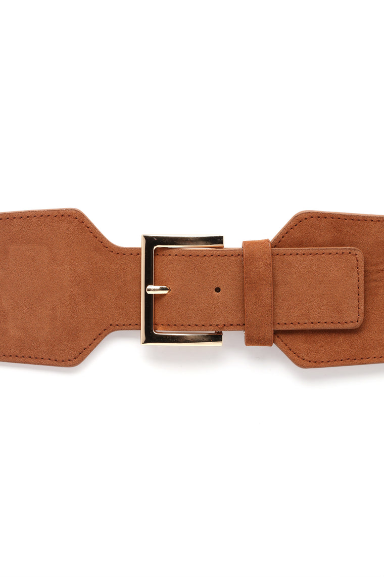 Inched Beauty Belt - Brown