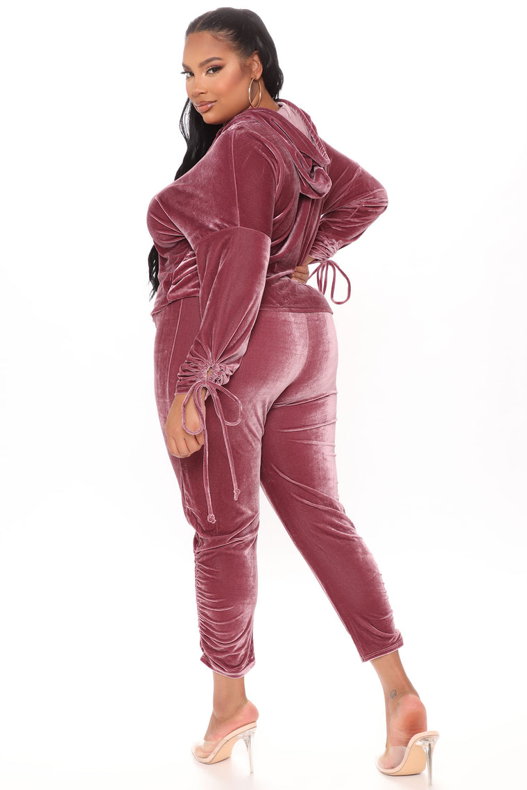Lush Ice Legging Set - Mauve