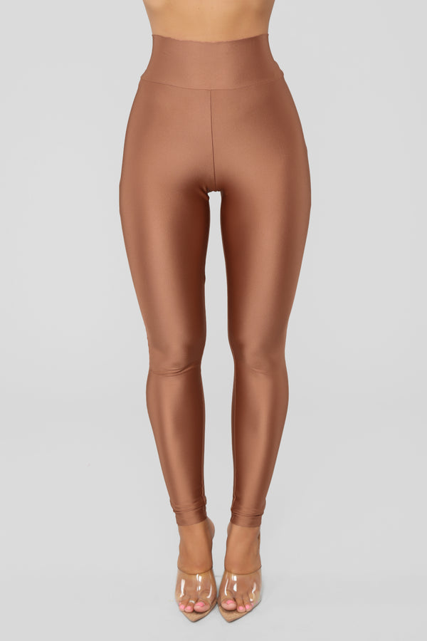 Focus On Me Ruched Leggings - Marsala 12cf12ddb