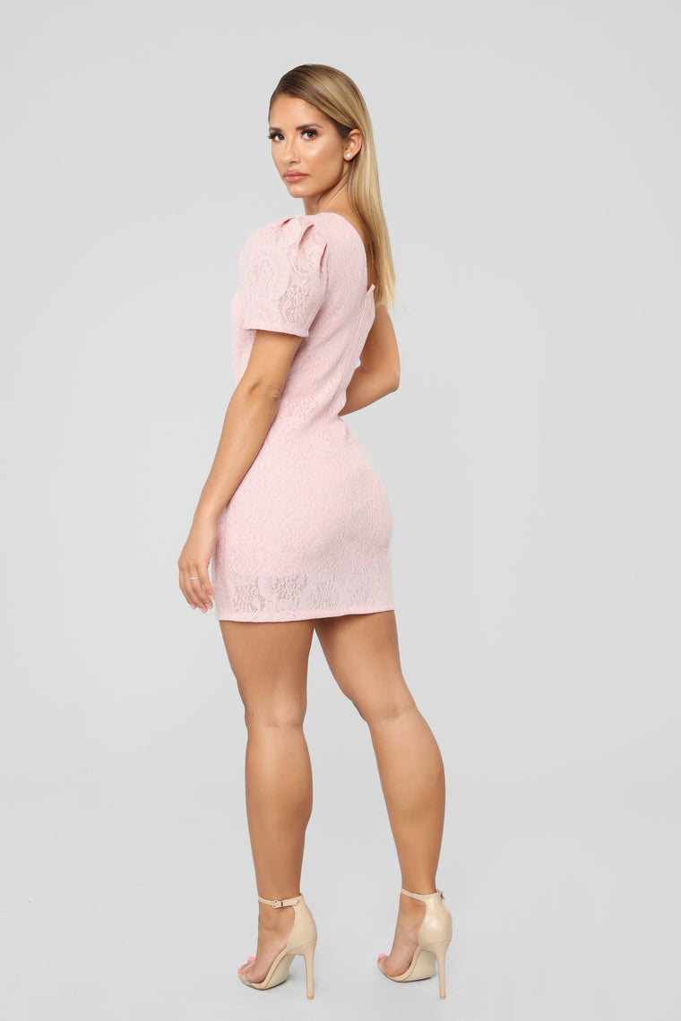 Dress You Up In My Love Dress - Blush