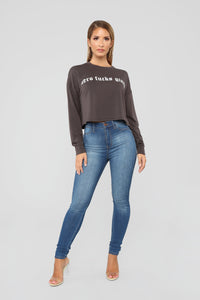 No Fcks Given Sweatshirt - Black