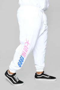 Youth Massive Jogger - White