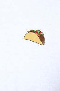 Taco Bout It Tee - White