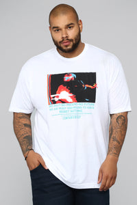 Ignite Short Sleeve Tee - White