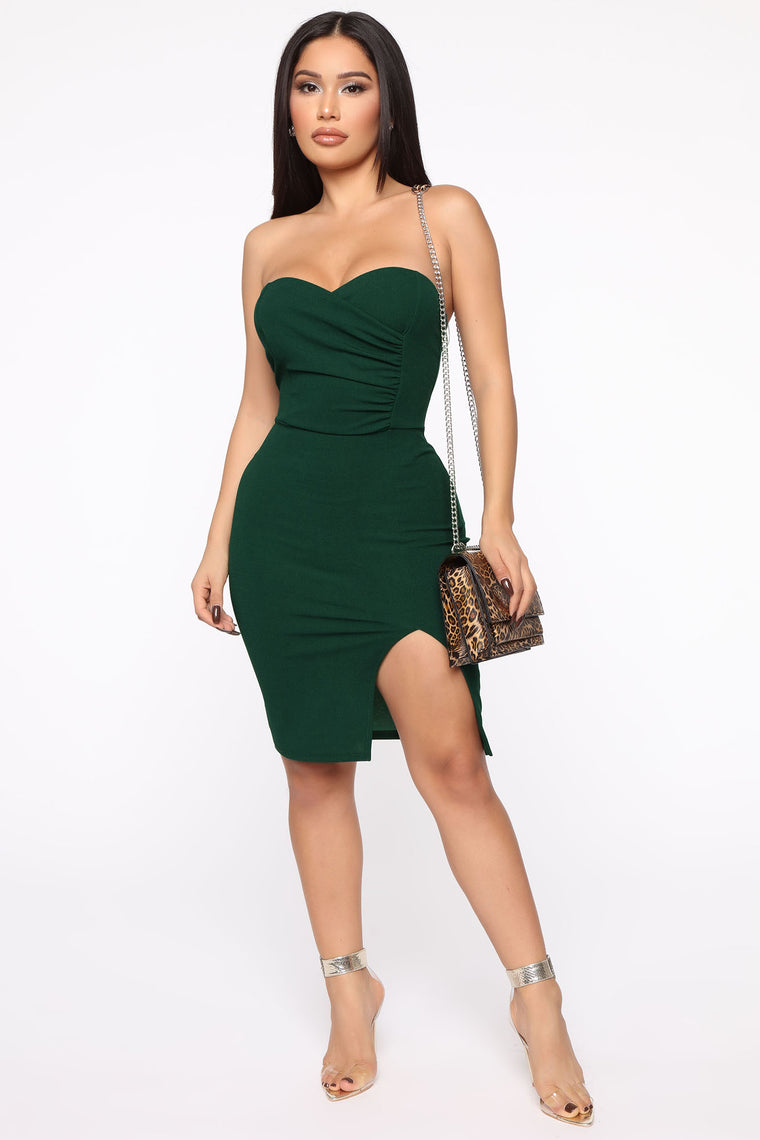You're My Kind Midi Dress   Emerald by Fashion Nova