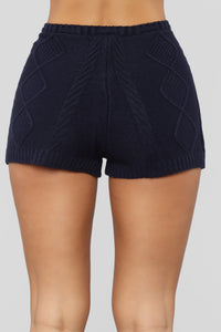 It's Only You Short Set - Navy