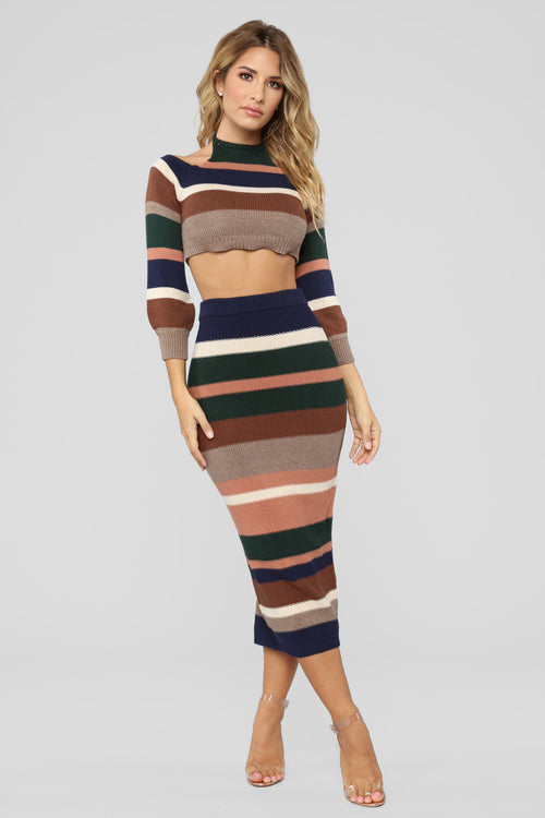 Emmie Stripe Set - Multi
