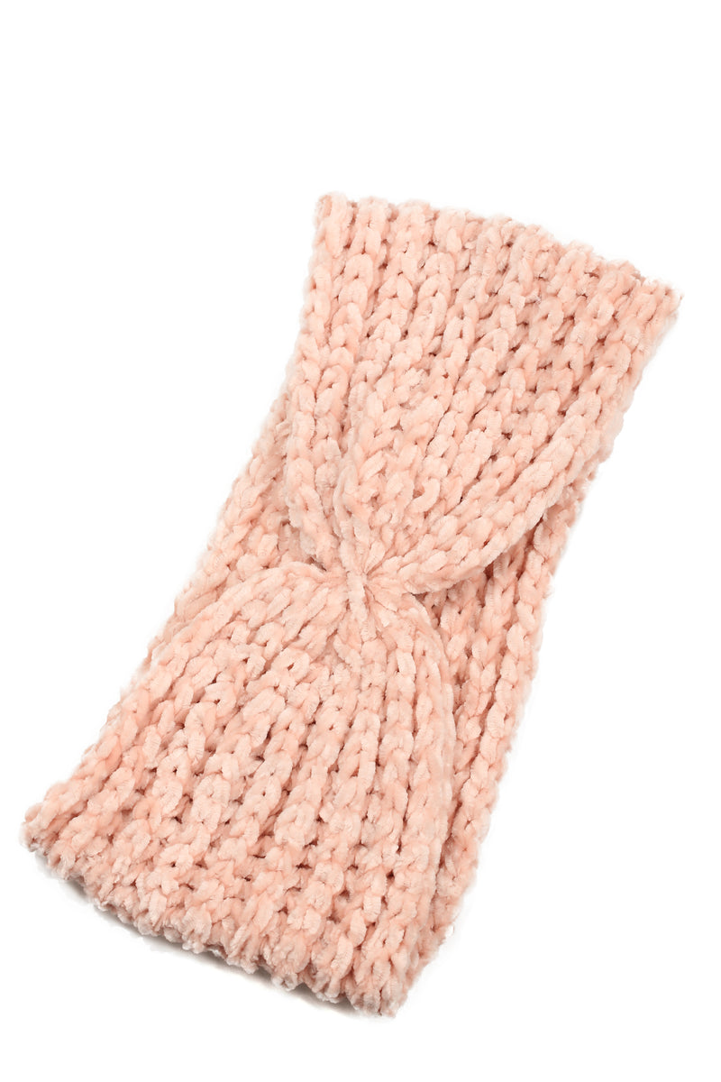 Change The Chenille Headband - Blush