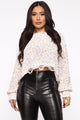 Gimmie Some Lovin' Distressed Sweater - Ivory