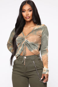 Love Like Ours Top - Olive Combo
