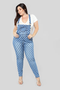 Your Move Overalls - MediumBlueWash