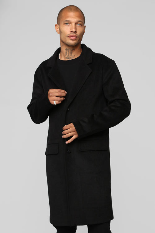 Harry Car Coat - Black