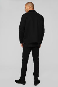 Micah Casual Jacket - Black
