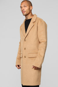 Harry Car Coat - Camel