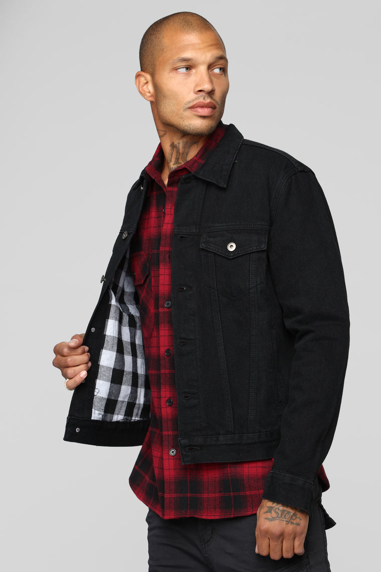 Good In The City Denim Jacket - Black