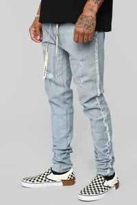 Inverso Skinny Jeans - Light Wash Angle 2