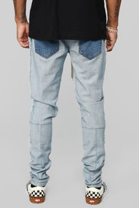 Inverso Skinny Jeans - Light Wash Angle 5