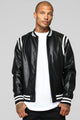 The Rookie Varsity Jacket - Black