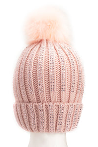 Saved Fur No One Beanie - Blush