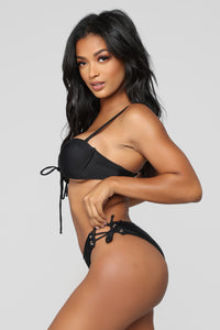 Always Think Of Me Bikini - Black