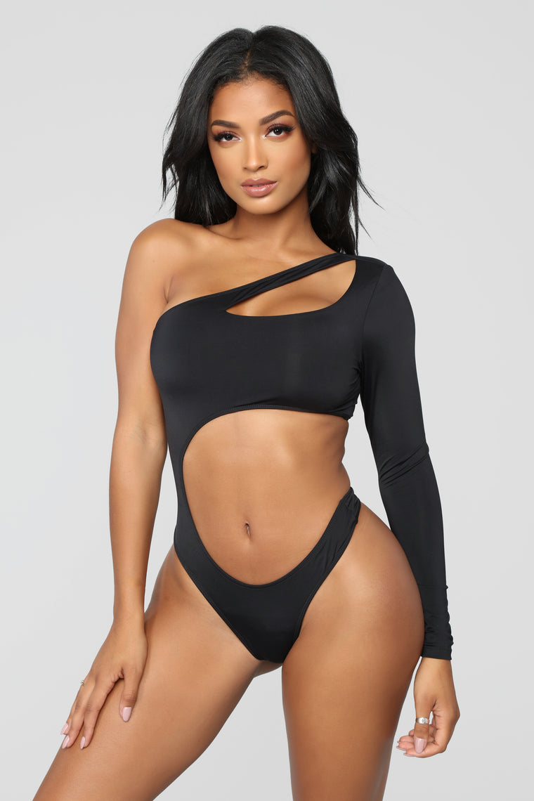 Make A Decision Swimsuit - Black