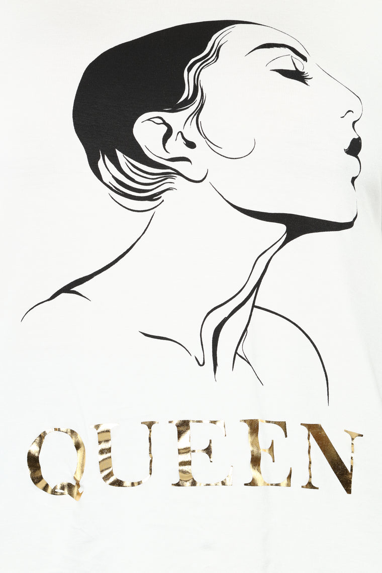 Flawless Queen Top - Ivory